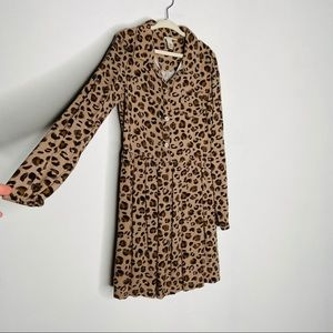 Cherokee Leopard Print Girls Dress